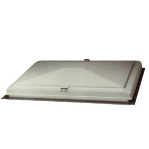 Hengs 90014-1 Escape Hatch Exit Vent White Cover Only with Slide