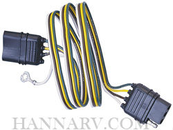 Hopkins 47105 4-Wire Flat Modular Replacement Harness
