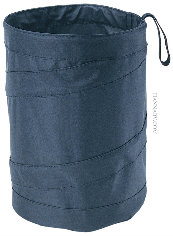 tall trash can. Hopkins TRASH-BLA Tall Pop Up Collapsible Travel Trash Can Bin For RV Or Boat