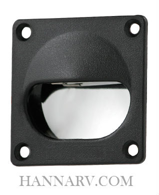 ITC 81395-D Black Flush Mount Floor Courtesy Light