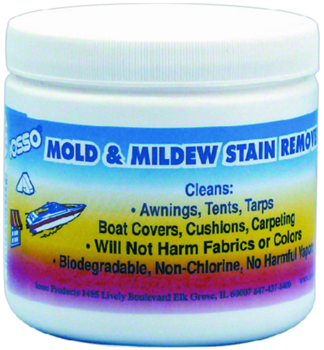 Iosso Marine Products 10900 Mold And Mildew Stain Remover 12-oz. Jar