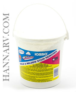 Iosso 10905 Mold and Mildew Stain Remover - 65 Ounce Pail