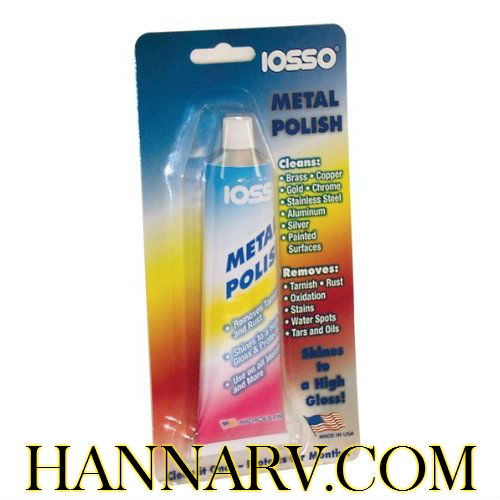 Iosso Marine Products 10333 All Metal Polish 3-oz. Tube