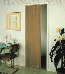 Irvine Shade & Door 3675FW Pleated Folding Door - Up To 36 Inches ...