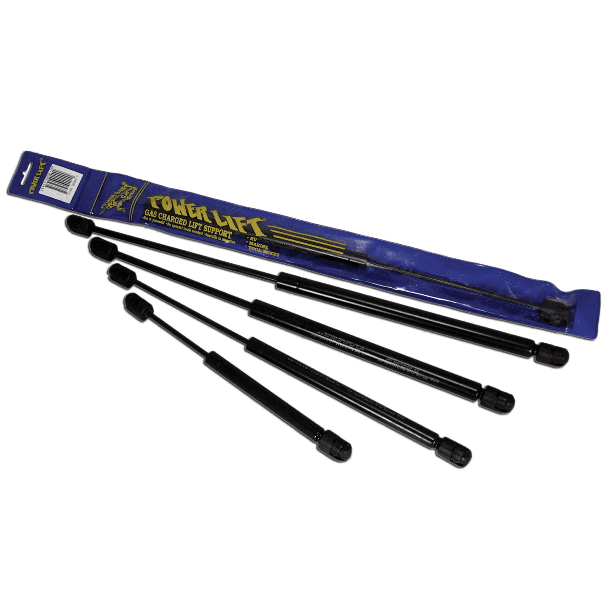 JR Products GSNI-5000-20 Black Nitride Shaft Gas Spring - 10 inch 20 lbs.
