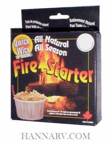 JR Products 04313 Fire Starter - 4 Pack
