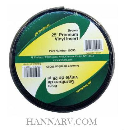 Jr Products 10055 Premium Vinyl Insert 25 Foot Length Brown Jr Products 10055 Buy 25 Foot Premium Vinyl Insert In Brown At Hannarv Com Hanna Trailer Supply