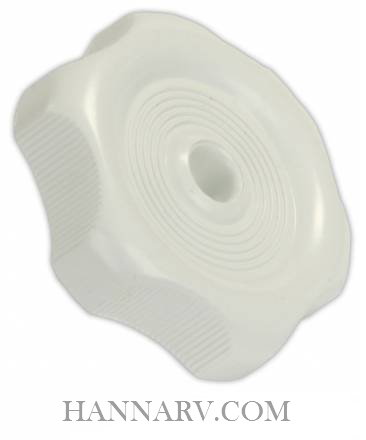JR Products 20355 Window / Vent Knob - White
