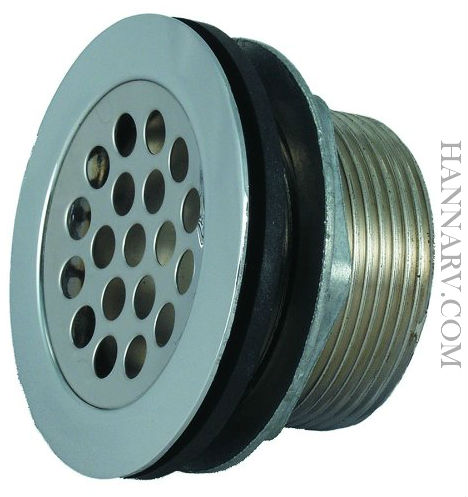 JR Products 9495-211-022 2 Inch Shower Strainer With Grid