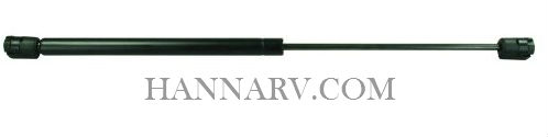JR Products GSNI-5000-60 Black Nitride Shaft Gas Spring - 10 Inches 60 lbs.