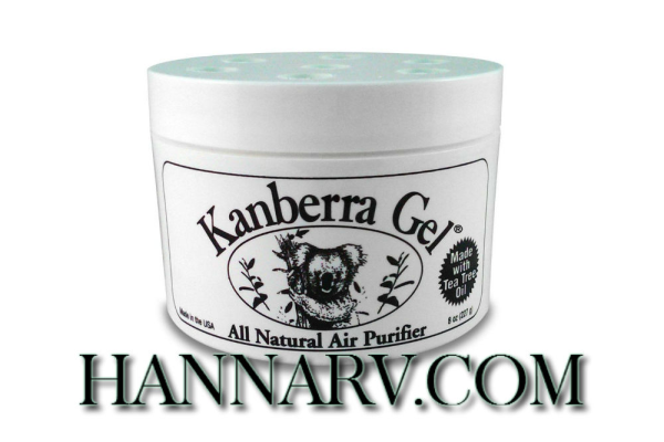 Kanberra Gel KG08MAR Airborne Mold And Mildew Remover 8-oz. Gel Canister