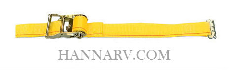 Kinedyne ET6416 E-Track Cargo Control 2 Inch x 16 Foot Strap with Ratchet - 1,000 Lbs