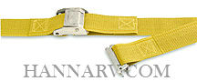 Kinedyne ET6512 E-Track Cargo Control 2 Inch x 12 Foot Strap with Cam Buckle - 835 Lbs