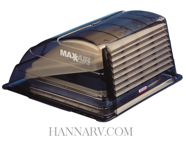 maxx air vent corp 00 933067 rv roof vent cover smoke tint - Trailer Roof Vent