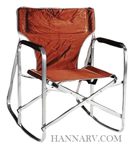 Mings Mark SL1205-BROWN Folding Rocking Director