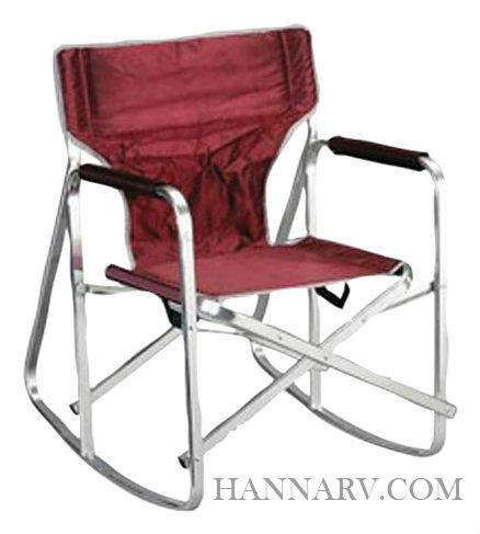 Mings Mark SL1205-BURGUNDY Folding Rocking Director