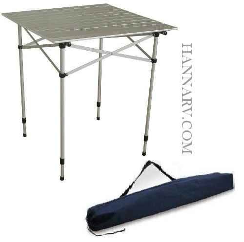 Bon Mingu0027s Mark TA 8115 Aluminum Roll Up Table Top With Adjustable Legs And  Carrying Bag