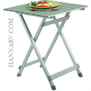 Mings Mark TA-8120 Easy Fold Aluminum Square Camping Table