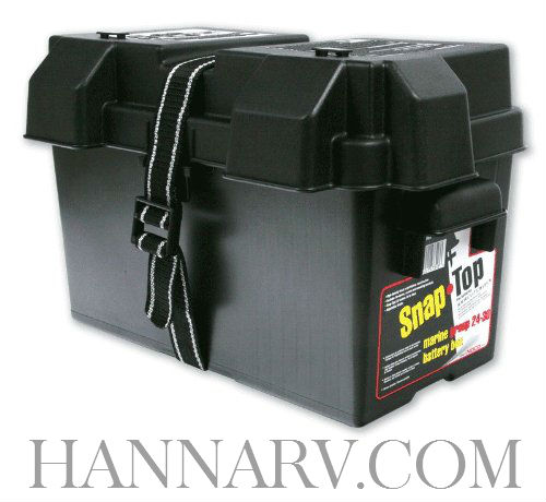 NOCO HM318BK Group 24-31 Snap-Top Battery Box