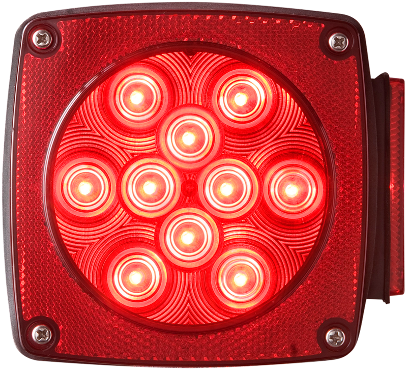 Optronics STL-8RB Universal 6-Function Stud Mount LED Tail Light