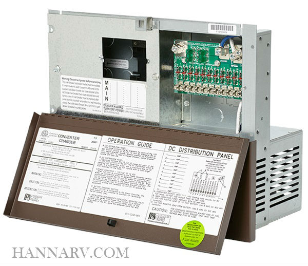 Parallax Power Supply 7155 7100 Series 30 Amp AC / 55 Amp DC Power Center