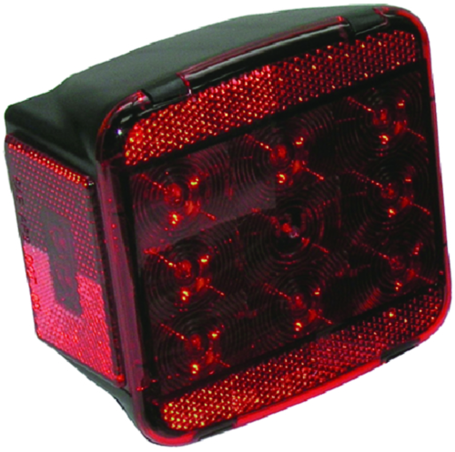 Peterson Manufacturing V840 Piranha Red LED Combination Tail Light - Right Side w/o License Light