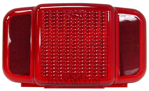 Peterson Manufacturing B457-15 Replacement Tail Light Lens without License Illuminator