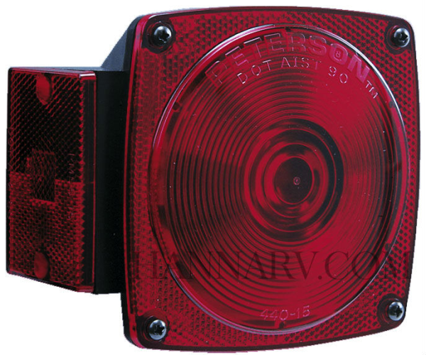Peterson Manufacturing E440 Replacement Tail Light