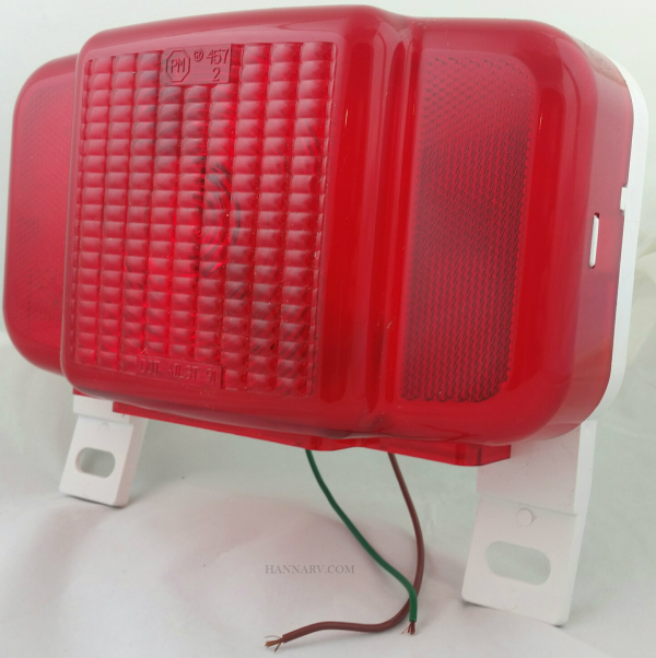Peterson Manufacturing M457L Multi-Function Combination Tail Light with License Illuminator