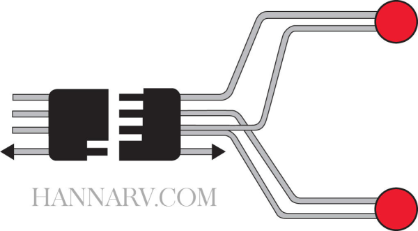 [SCHEMATICS_4FR]  Peterson Manufacturing V-5425Y Split Trailer Wiring Harness | MFG# V-5425Y  | 28968 | Hanna Trailer Supply | Peterson Trailer Wiring Diagram |  | Hanna Trailer Supply