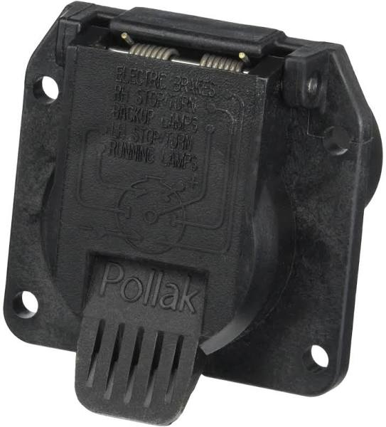 Pollak 11-893 RV OEM Replacement 7-Way Socket