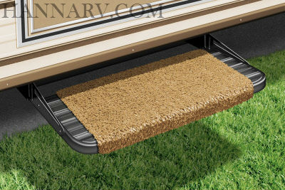 Prest-O-Fit 2-0049 RV Wraparound Step Rug Harvest Gold