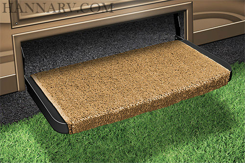 Prest-O-Fit 2-0079 Wraparound Plus RV Step Rug - Gold