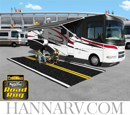 Prest-O-Fit 2-0180 Special Edition Road Rug 8 x 20 Foot RV Awning Patio Rug