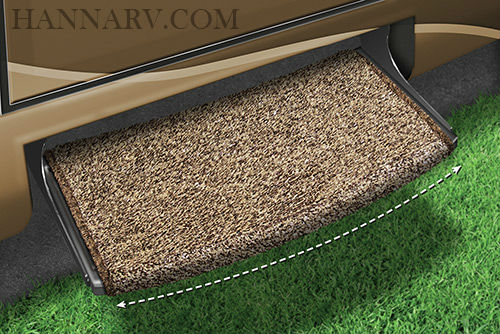 Prest-O-Fit 2-0201 Wraparound Radius RV Step Rug