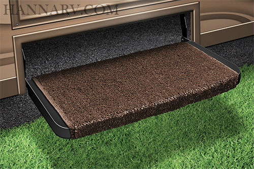 Prest-O-Fit 2-1070 Wraparound Plus RV Step Rug - Espresso