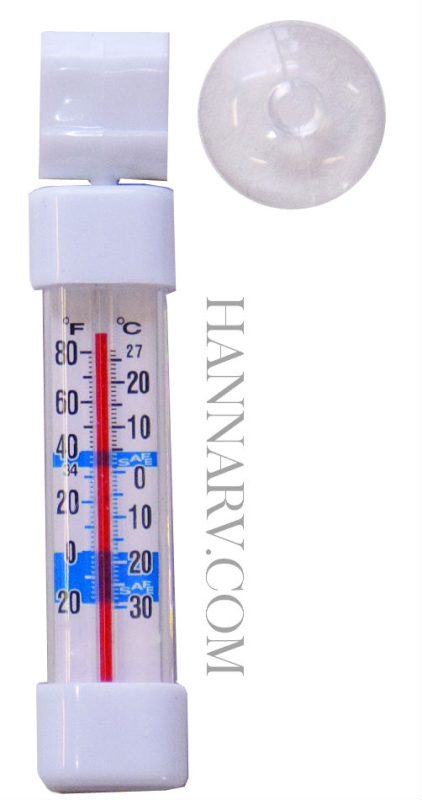 Prime Products 12-3031 Vertical Refrigerator / Freezer Thermometer