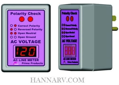 Prime Products 12-4058 AC Power Line Monitor and Polarity Tester
