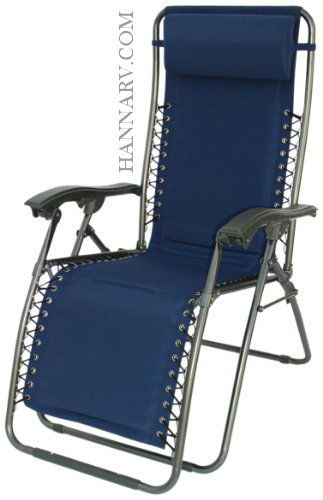 Prime Products 13-4472 Del Mar Recliner - Blue