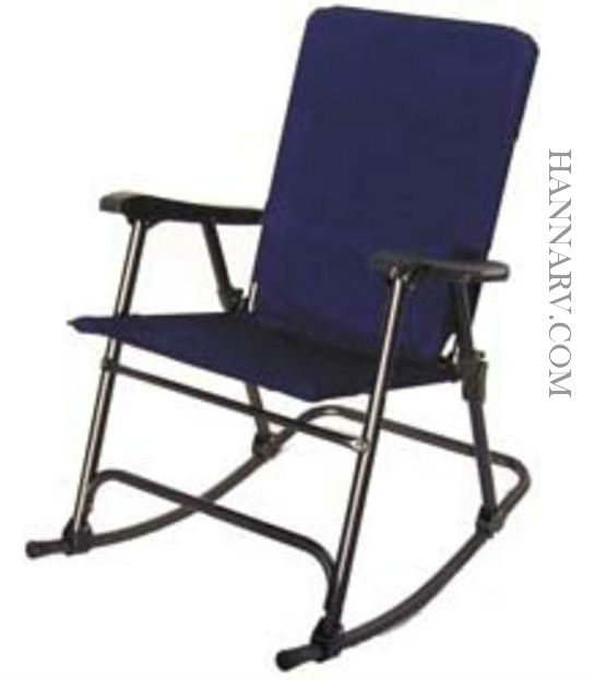Prime Products 13-6501 Elite Rocker Folding Chair - California Blue