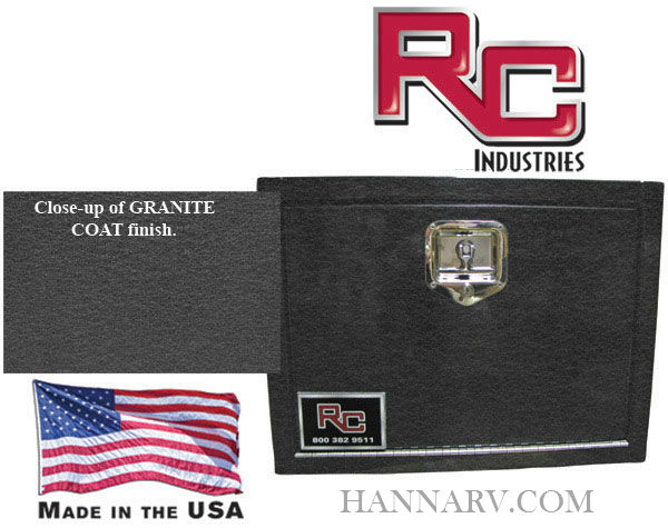 RC Industries - UBT1818-30 - Underbody Toolbox with Granite Texture Finish
