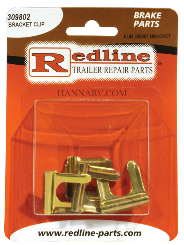 Redline 309802 Clip for 309801 Bracket (Package of 4)