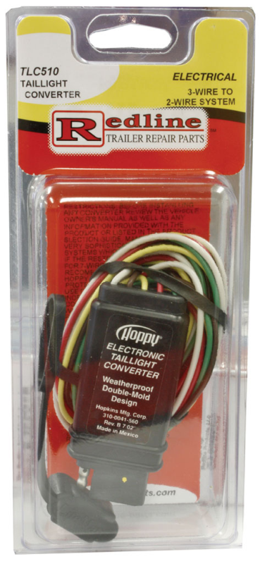 Redline TLC510 Taillight Convertor for 3-Wire to 2-Wire System