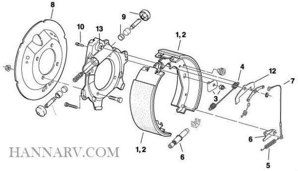 redline trailer repair parts bp15015 metal dust shield for dexter 4bolt  drop spindle electric/hydraulic