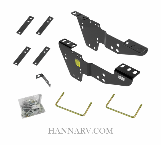 Reese 50064 5th Wheel Custom Quick Install Brackets for Chevy and GMC Trucks