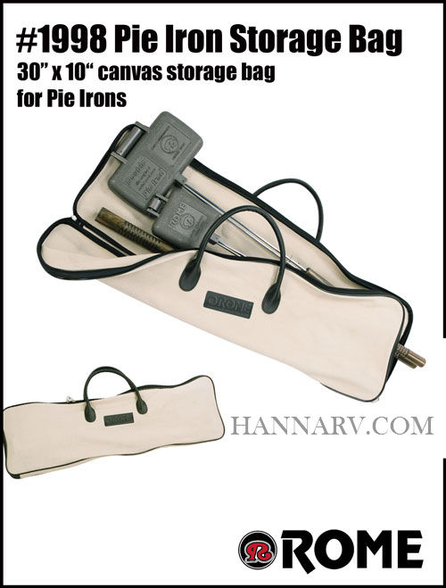 Rome 1998 Pie Iron Storage Bag - Holds 4 Irons