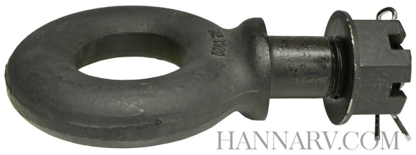 SAF Holland 1250-3 Tow Ring Draw Bar with Shank - 2-1/2 Inch Eye 15000 Pound Capacity