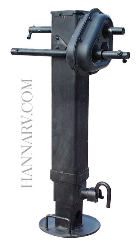 SAF Holland LG4700-32NH Sidewind Heavy Duty Dropleg Jack with Side Pin No Handle 25000 Pound Capacit