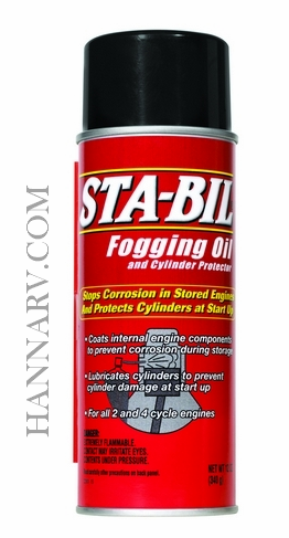 STA-BIL 22001 Fogging Oil and Cylinder Protector - 12 Ounce Can