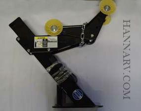 Shorelander 6199603 Right Side Black Poly Trailer Fender 9 Inch